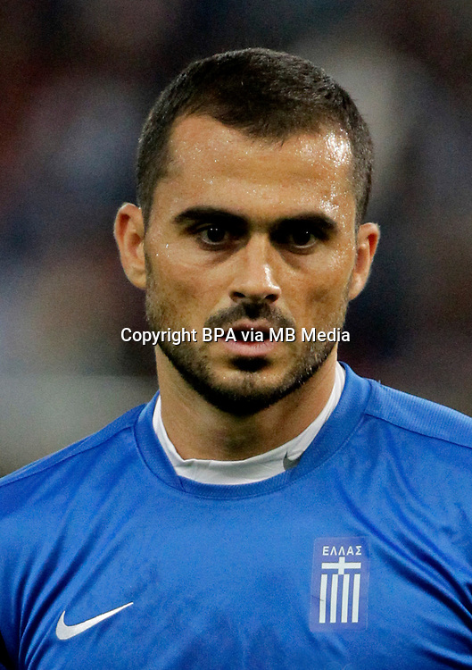 Football Fifa Brazil 2014 World Cup / <br /> Greece National Team - <br /> Loukas VYNTRA of Greece
