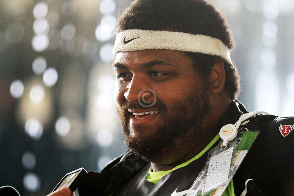 Olympic Trials Eugene 2012: Reese Hoffa, winner, men's shot put, interview