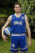 SONDRIO, ESTATE 2002<br /> POSATI NAZIONALE ITALIANA MASCHILE<br /> NELLA FOTO: ROTELLA<br /> FOTO CIAMILLO