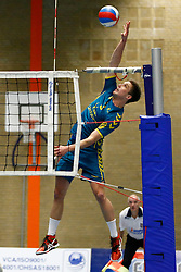20151210 NED: Volleybal: ARBO Rotterdam - Landstede Volleybal, Rotterdam<br />