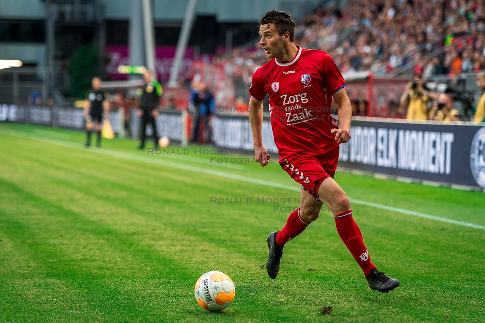 12-05-2018 NED: FC Utrecht - Heerenveen, Utrecht<br /> FC Utrecht win second match play off with 2-1 against Heerenveen and goes to the final play off / Lukas Gortler #27 of FC Utrecht