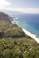 A view of Sao Jorge on the north coast of Madeira, Portual