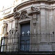 Chiesa di San Giuliano a Catania..San Giuliano church in Catania