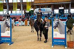 GIBSON Kimberley Alexandra (GER), Dree Boeken´s Diarados Roesc<br /> Neustadt-Dosse - CSI 2019<br /> Amateure Gold Tour<br /> 11. Januar 2019<br /> © www.sportfotos-lafrentz.de/Stefan Lafrentz