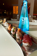 A sushi assortment at Sei.