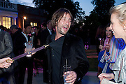 JAY KAY, 2009 Serpentine Gallery Summer party. Sponsored by Canvas TV. Serpentine Gallery Pavilion designed by Kazuyo Sejima and Ryue Nishizawa of SANAA. Kensington Gdns. London. 9 July 2009.
