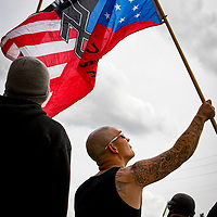 National Socialist Movement, a Neo Nazi group, photographed for Southern Poverty Law Center.