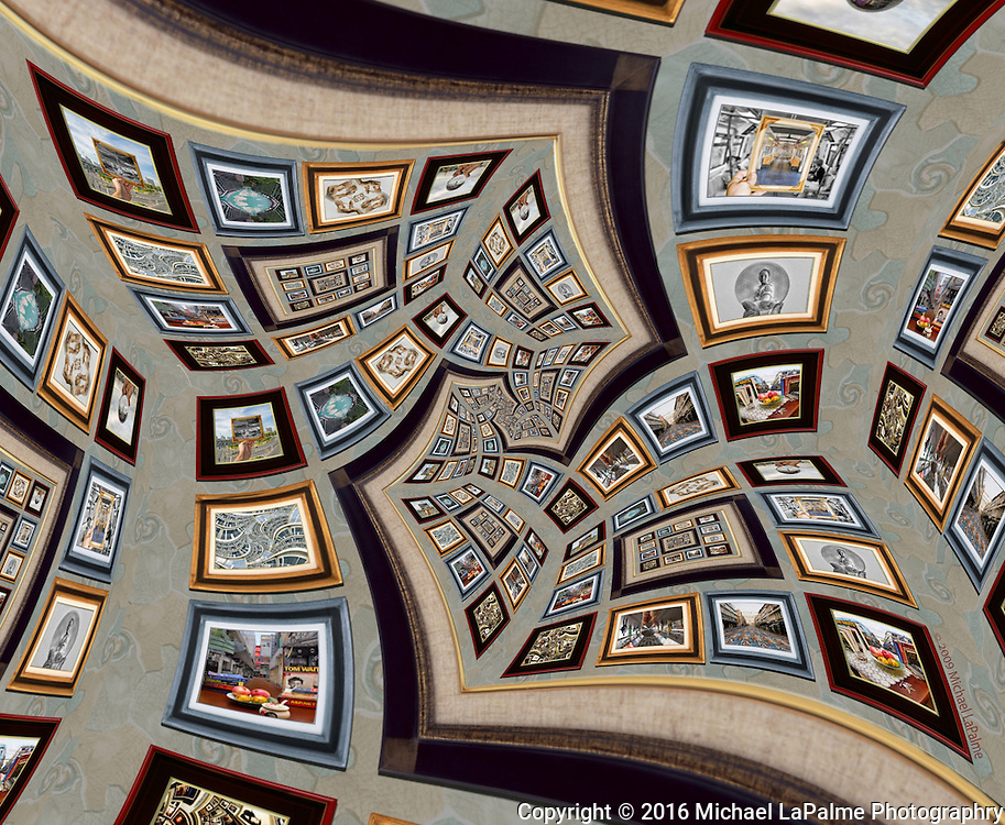 From my Bangkok Print Gallery series heavily inspired by the artwork of M.C. Escher.
