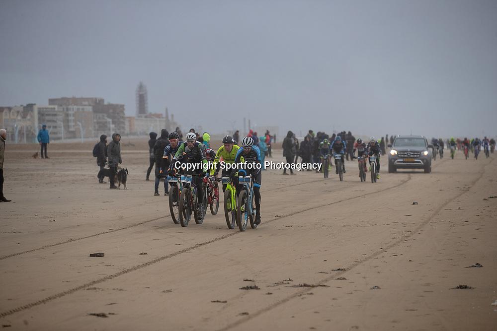 09-12-2018: Wielrennen: EK beachrace: Scheveningen<br />Op het strand bij Scheveningen werd gestreden om de Europese Berachrace titel