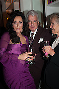 NANCY DELL D'OLIO; NICKY HASLAM, Drinks party given by Basia and Richard Briggs,  Chelsea. London. SW3. 13 February 2014.
