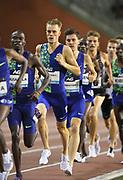 Filip Ingebrigtsen (NOR) places third in teh 1,500m in 3:33.33 during the IAAF Diamond League final at the 44th Memorial Van Damme at King Baudouin Stadium, Friday, Sept. 6, 2019, in Brussels, Belgium. (Jiro Mochizuki/Image of Sport)