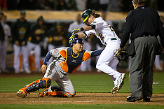 20150424 - Houston Astros at Oakland Athletics