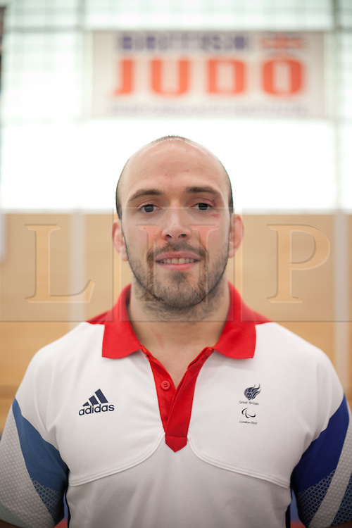© London News Pictures. 23/08/2012. Dartford, Kent. Judo paralympian Sam Ingram. Britain's leading judokas from ParalympicsGB in training at their national base in Dartford, Kent before competing in London2012. Picture credit should read Manu Palomeque/LNP
