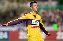 Elvedin Dzinic of Maribor at 13th Round of Prva Liga football match between NK Olimpija and Maribor, on October 17, 2009, in ZAK Stadium, Ljubljana. Maribor won 1:0. (Photo by Vid Ponikvar / Sportida)