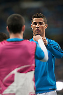 Cristiano Ronaldo of Real Madrid during the UEFA Champions League match at the Estadio Santiago Bernabeu, Madrid<br /> Picture by Marcos Calvo Mesa/Focus Images Ltd +34 654142934<br /> 03/11/2015