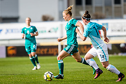 Leonie Maier of Germany during football match between Slovenia and Germany in Womans Qualifications for World Championship 2019, on April 10, 2018 in Sports park Domzale, Domzale, Slovenia. Photo by Ziga Zupan / Sportida