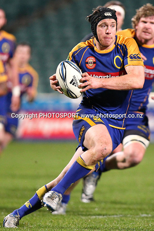 Otago's Ben Smith in action. ITM Cup rugby union match, North Harbour v Otago at North Harbour Stadium, Albany, Auckland, New Zealand. Thursday 19th August 2010. Photo: Anthony Au-Yeung/PHOTOSPORT