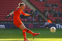 February 23, 2019 - Sheffield, England, United Kingdom - Karen Bardsley of Manchester City..during the FA Women's Continental League Cup Final football match between Arsenal Women and Manchester City Women at Bramall Lane on February 23, 2019 in Sheffield, England. (Credit Image: © Action Foto Sport/NurPhoto via ZUMA Press)
