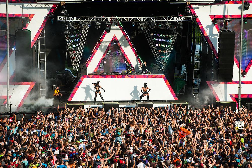 Spring Awakening Music Festival 2014 at Soldier Field.
