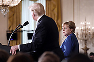 President Trump meets German Chancellor Angela Merkel - 27 Apr 2018