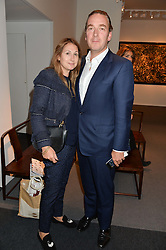 DAMIAN & CHARLOTTE DELAHUNTY at the PAD London 10th Anniversary Collector's Preview, Berkeley Square, London on 3rd October 2016.