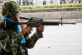Bangkok's Friday Afternoon Street Battle