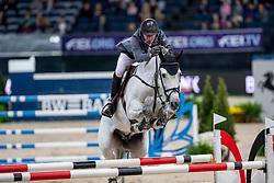 Vrieling Jur, NED, Dallas VDL<br /> Stuttgart - German Masters 2018<br /> © Hippo Foto - Stefan Lafrentz