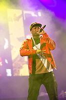 50 Cent spiller p&aring; Jugendfest 2013 p&aring; Color Line Stadion i &Aring;lesund.<br /> Foto: Svein Ove Ekornesv&aring;g