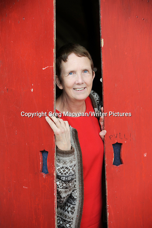 Ann Cleeves at the Edinburgh International Book Festival 2014. 18th August 2014<br /> <br /> Photograph by Greg Macvean/Writer Pictures<br /> <br /> WORLD RIGHTS