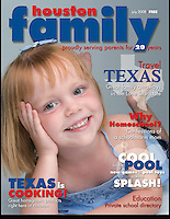 Houston Family Cover July 2008
