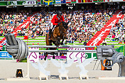 Paul Estermann - Castlefield Eclipse<br /> Alltech FEI World Equestrian Games™ 2014 - Normandy, France.<br /> © DigiShots