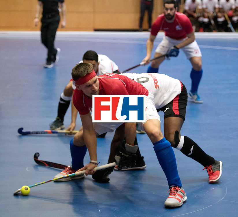 BERLIN - Indoor Hockey World Cup<br /> Czech Republic - Trinidad &amp; Tobago<br /> foto: PLOCH&Yacute; Lukas.<br /> WORLDSPORTPICS COPYRIGHT FRANK UIJLENBROEK