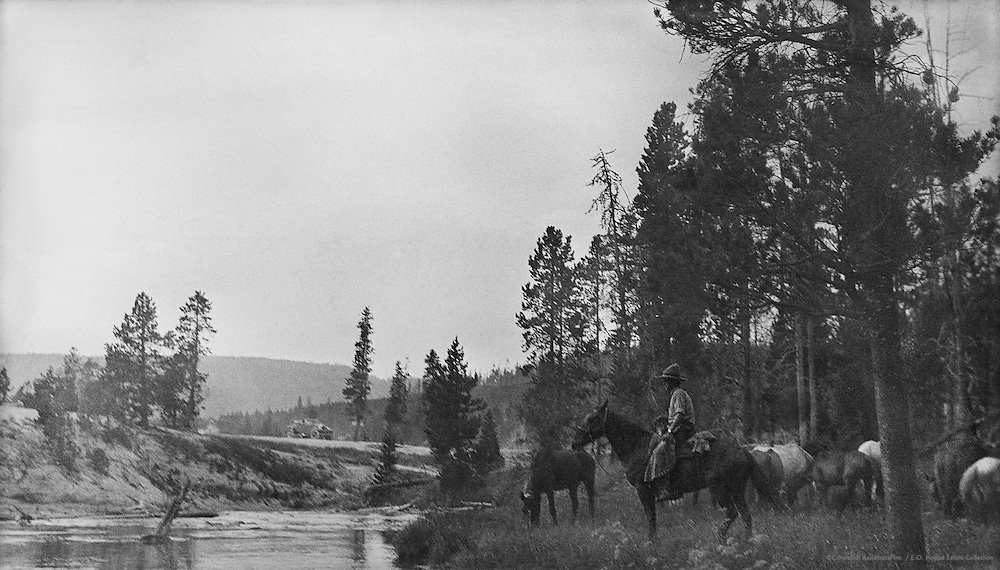 Firehole River, Yellowstone, Wyoming, USA, 1926
