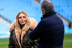 Former Countdown presenter Carol Vorderman is given a tour of The Ricoh Arena ahead of Wasps v Northampton Saints - Mandatory by-line: Robbie Stephenson/JMP - 05/01/2020 - RUGBY - Ricoh Arena - Coventry, England - Wasps v Northampton Saints - Gallagher Premiership Rugby