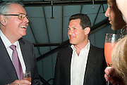 THE  AMERICAN AMBASSADOR ROBERT TUTTLE AND JOSH BERGER. These Foolish Things, charity evening hosted by Sir Richard and Lady Rogers. Chelsea. London. 7 May 2008.  *** Local Caption *** -DO NOT ARCHIVE-© Copyright Photograph by Dafydd Jones. 248 Clapham Rd. London SW9 0PZ. Tel 0207 820 0771. www.dafjones.com.