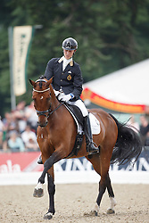 Franckx Tom, (BEL), Evento D<br /> Small Final 6 years old horses<br /> World Championship Young Dressage Horses - Verden 2015<br /> © Hippo Foto - Dirk Caremans<br /> 08/08/15