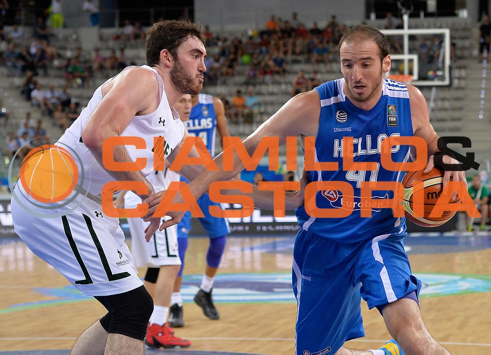 DESCRIZIONE: Torino FIBA Olympic Qualifying Tournament Messico Grecia<br /> GIOCATORE: Koufos Kostas<br /> CATEGORIA: GREECE GRECIA<br /> GARA: FIBA Olympic Qualifying Tournament Messico Grecia<br /> DATA: 06/07/2016<br /> AUTORE: Agenzia Ciamillo-Castoria