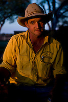 Brunette Downs Cattle Station is situated on the Barkley tablelands in Australia's Northern Territory. One of Australia's largest cattle stations..Sam Burke son of station mananger Henry.