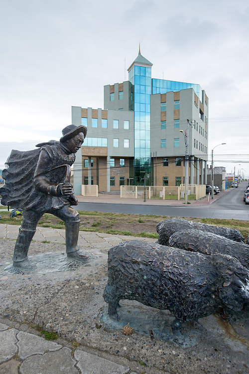 Punta Arenas Shepherd Sculpture, Chile