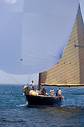 Northern Light, 12 Meter Class, sailing in the Robert H. Tiedemann Classic Yachting Weekend race 1.