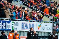 Ålesund 20120427. Bilder fra eliteseriekampen mellom AaFK og Rosenborg på Color Line Stadion i Ålesund. Kampen endte 2-2.<br /> Foto: Svein Ove Ekornesvåg
