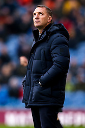 Leicester City manager Brendan Rogers looks up - Mandatory by-line: Robbie Stephenson/JMP - 19/01/2020 - FOOTBALL - Turf Moor - Burnley, England - Burnley v Leicester City - Premier League