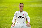 County Championship kit portrait of Max Waller during the Somerset County Cricket Club PhotoCall 2017 at the Cooper Associates County Ground, Taunton, United Kingdom on 5 April 2017. Photo by Graham Hunt.