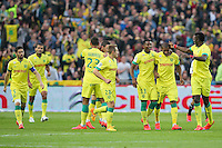 Joie Nantes / Johan AUDEL - 16.05.2015 - Nantes / Lorient - 37eme journee de Ligue 1<br />