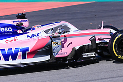February 18, 2019 - Montmelo, BARCELONA, Spain - Sergio Perez from Mexico with 11 SportPesa Racing Point F1 Team in action during the Formula 1 2019 Pre-Season Tests at Circuit de Barcelona - Catalunya in Montmelo, Spain on February 18. (Credit Image: © AFP7 via ZUMA Wire)
