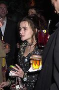 Helena Bonham-Carter. Talk pre-Golden Globes party. Mondrian Hotel. West Hollywood, California USA 20 January 2001. © Copyright Photograph by Dafydd Jones 66 Stockwell Park Rd. London SW9 0DA Tel 020 7733 0108 www.dafjones.com