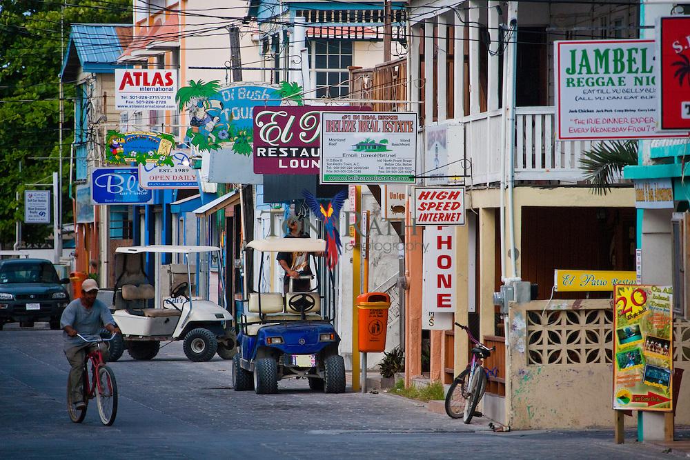Scenes from San Pedro, Belize