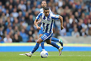 Brighton & Hove Albion winger Anthony Knockaert (11) during the EFL Sky Bet Championship match between Brighton and Hove Albion and Preston North End at the American Express Community Stadium, Brighton and Hove, England on 15 October 2016.