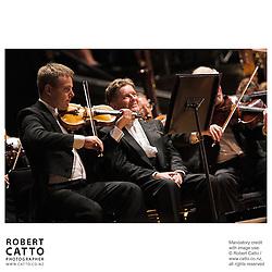 Vesa-Matti Leppänen;James Judd at the NZSO 60th Anniversary Concert at Wellington Town Hall, Wellington, New Zealand.