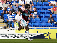 Photo: Daniel Hambury.<br /> Reading v Burnley. Coca Cola Championship.<br /> 29/08/2005.<br /> <br /> Burnley's Ade Akinbiyi celebrates his goal.